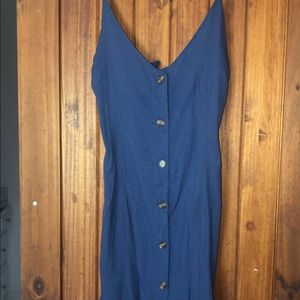 button from dress w open back